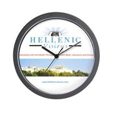 Hellenic Visions Wall Clock