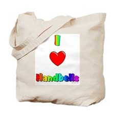 I love handbells Tote Bag