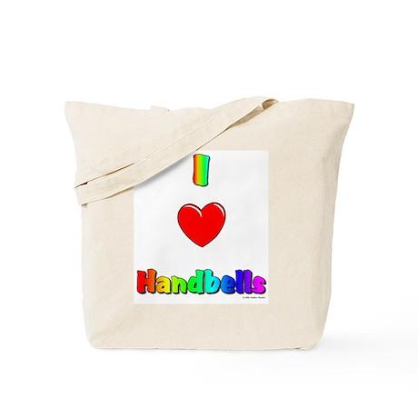 I love handbells Tote Bag