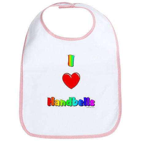 I love handbells Bib