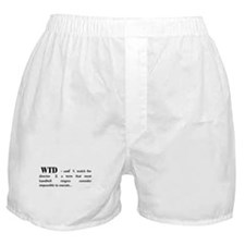 Watch the Director Boxer Shorts