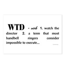 Watch the Director Postcards (Package of 8)