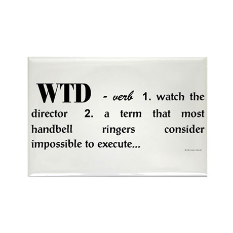 Watch the Director Rectangle Magnet (10 pack)