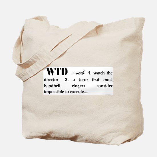 Watch the Director Tote Bag