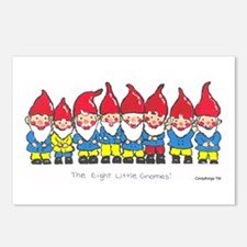Gnomes Postcards (Package of 8)
