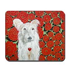 """Terrier Love"" Mousepad"