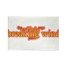 twilight breaking wind part 1 Rectangle Magnet