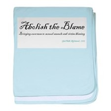 Abolish the Blame 2012 baby blanket