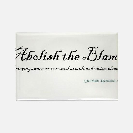 Abolish the Blame 2012 Rectangle Magnet