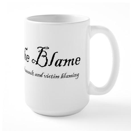 SlutWalk Richmond's motto - Abolish the Blame Larg
