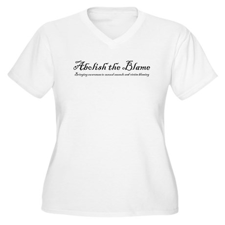 SlutWalk Richmond's motto - Abolish the Blame Wome