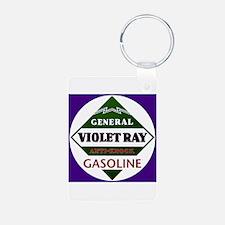 Violet Ray Gasoline Keychains