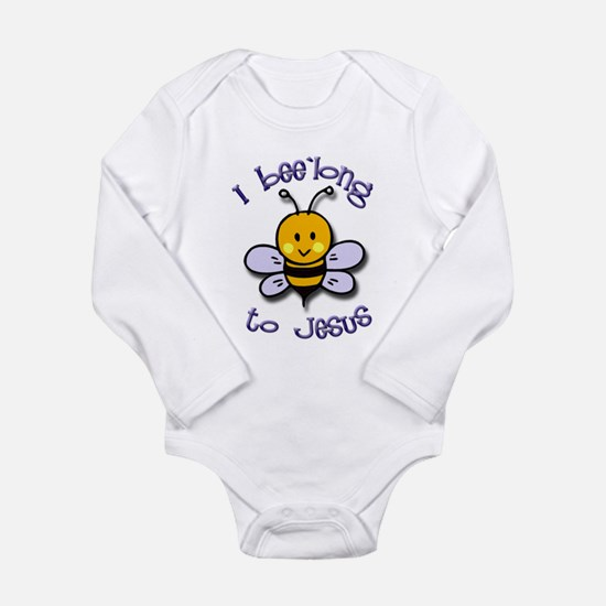 I Bee'long to Jesus (1) Infant Creeper Body Suit