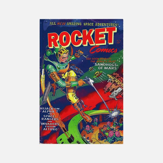 Rocket Comics #71 Rectangle Magnet