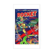 Rocket Comics #71 Decal