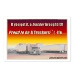 A Truckers Wife Postcards (Pkg of 8)