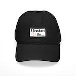 A Truckers Wife (original) Black Cap