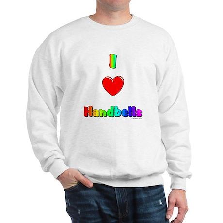 I love handbells Sweatshirt