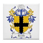 Reath Coat of Arms Tile Coaster