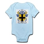 Reath Coat of Arms Infant Creeper