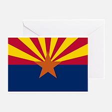 Arizona flag Greeting Cards (Pk of 10)