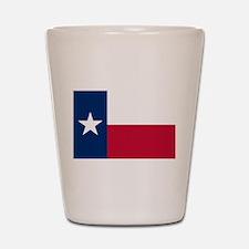 Texas flag Shot Glass