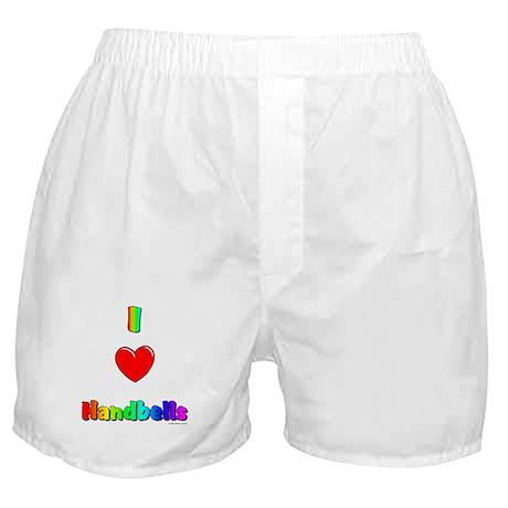 I love handbells Boxer Shorts