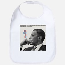 Barack Obama OUR MAN IN D.C. Jazz Album Cover Bib