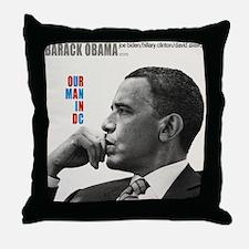 Barack Obama OUR MAN IN D.C. Jazz Album Cover Thro