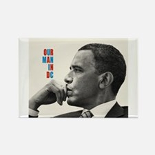 Barack Obama OUR MAN IN D.C. Jazz Album Cover Rect