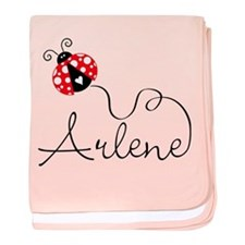 Ladybug Arlene baby blanket
