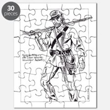Federal Soldier, 6th Iowa Infantry Regt. Puzzle