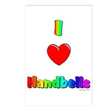 I love handbells Postcards (Package of 8)