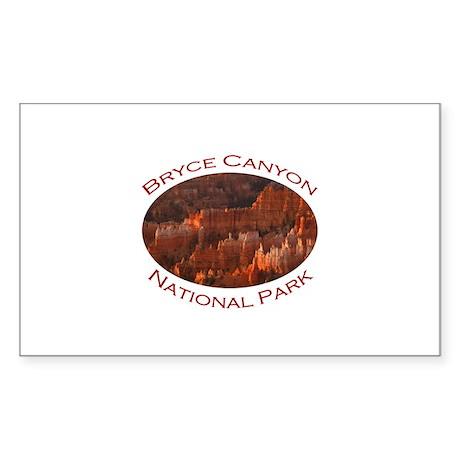 Bryce Canyon National Park...Landscape Sticker (Re