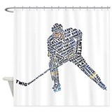 Hockey Shower Curtains