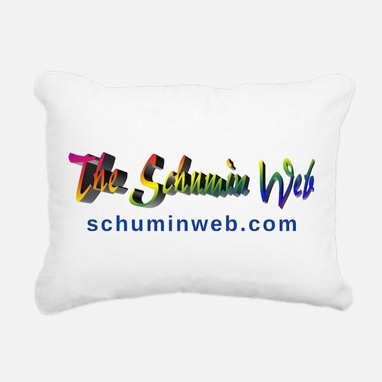 Schumin Web Logo Rectangular Canvas Pillow