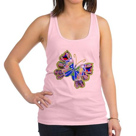 Cosmic Butterfly / Racerback Tank Top
