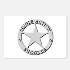 Single Action Shooter Postcards (Package of 8)
