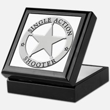 Single Action Shooter Keepsake Box