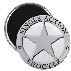 Single Action Shooter Magnet