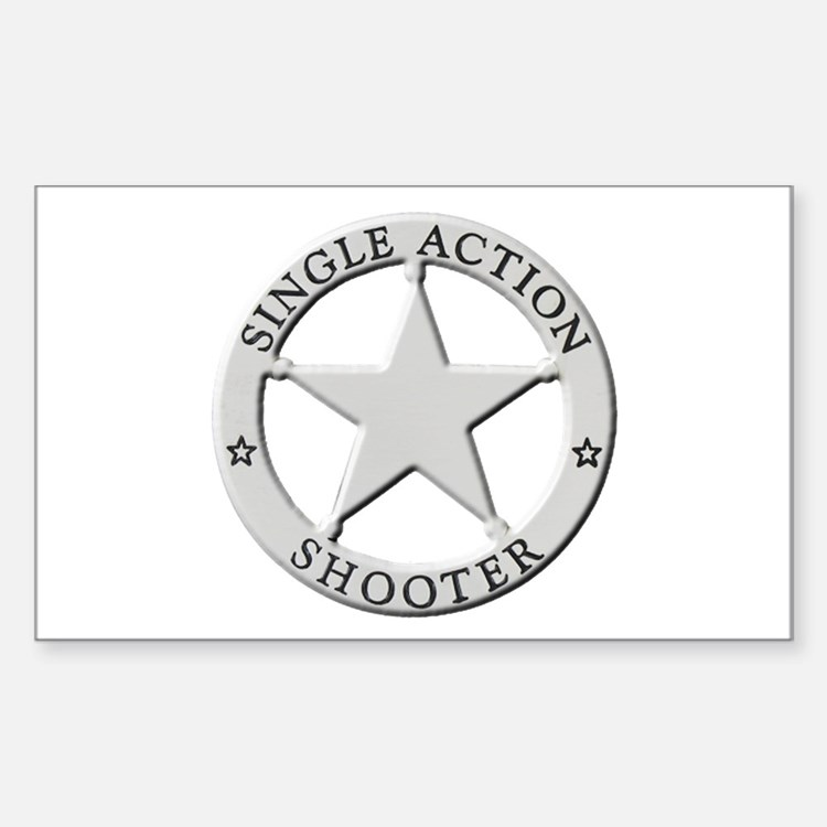Single Action Shooter Decal