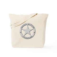 Single Action Shooter Tote Bag