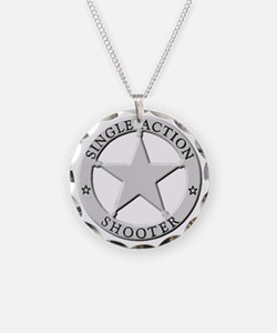 Single Action Shooter Necklace
