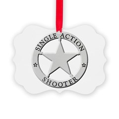 Single Action Shooter Ornament