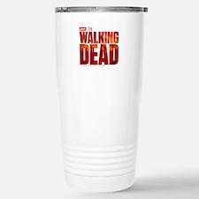 The Walking Dead Blood Logo Stainless Steel Travel