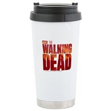 The Walking Dead Blood Logo Travel Mug
