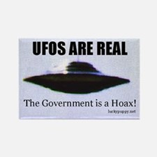 UFOs are Real Rectangle Magnet