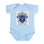 Porteous Coat of Arms Infant Creeper
