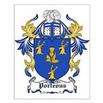 Porteous Coat of Arms Small Poster