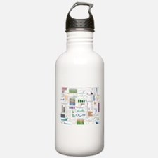 TED designs for TEDophiles Water Bottle